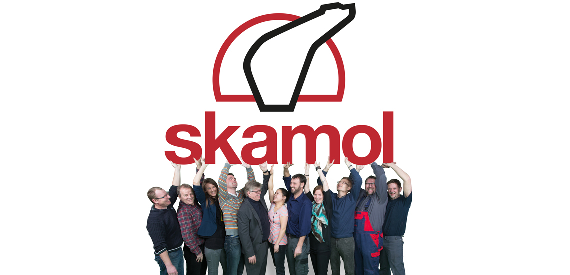 Our company Skamol values