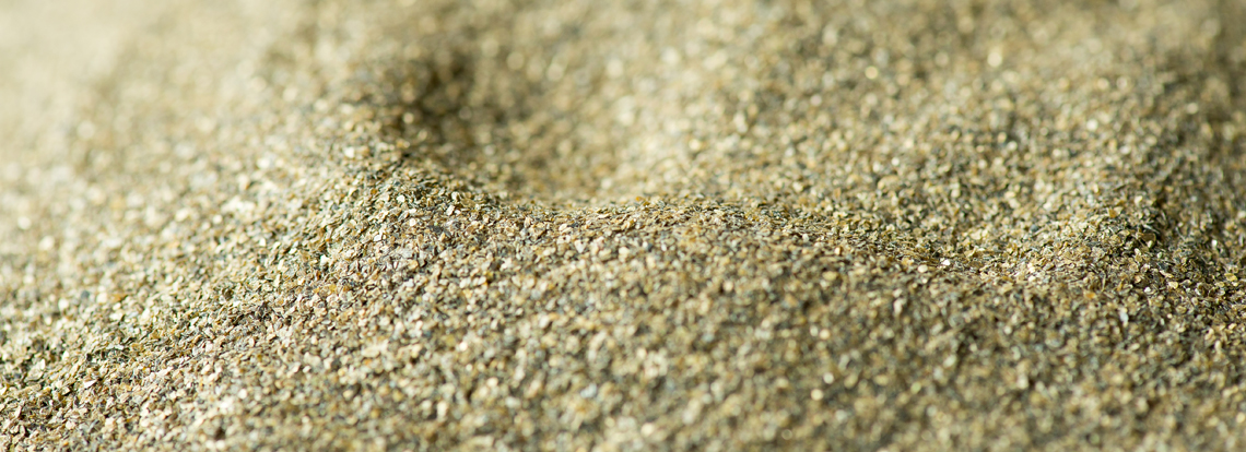 Vermiculite raw material used to produce Skamol vermiculite insulation products