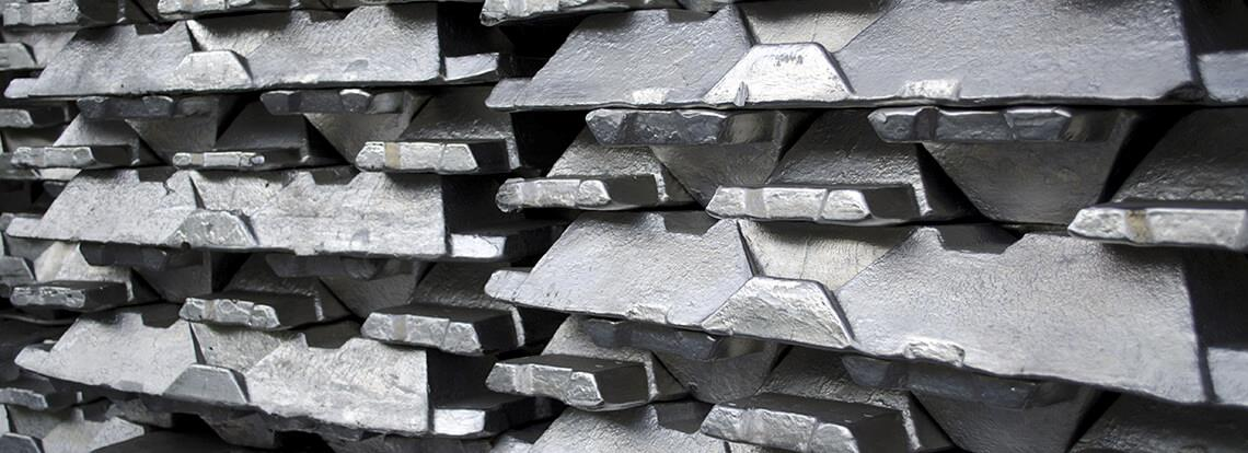 Aluminium production industry